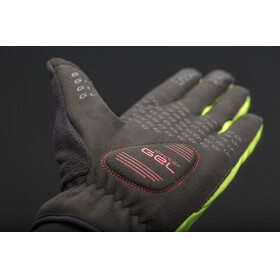 GripGrab Windster Hi-Vis Gloves Fluo Yellow